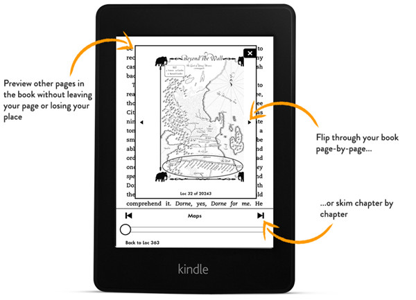 All-New Kindle Paperwhite Page Flip