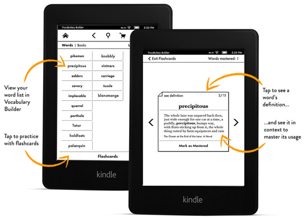 All-New Kindle Paperwhite Vocabulary Builder