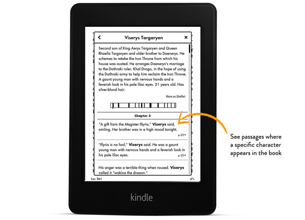 All-New Kindle Paperwhite X-Ray
